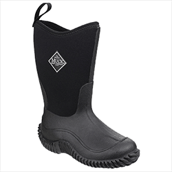 Small Image of Muck Boot Kids Hale Tall Wellies in Black - UK 4