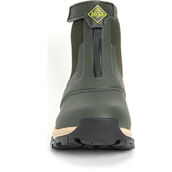 Extra image of Muck Boot Men's Apex Zip Short Boots in Moss - UK 9