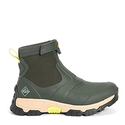 Small Image of Muck Boot Men's Apex Zip Short Boots in Moss - UK 9