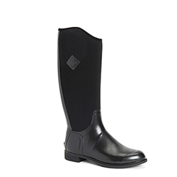 Small Image of Muck Boot Women's Derby Tall Boots in Black - UK 6