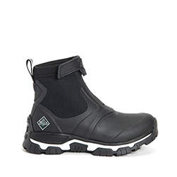 Small Image of Muck Boot Women's Apex Zip Short Boots in Black