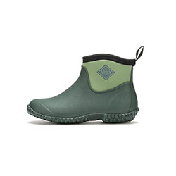Extra image of Muck Boot - Women's Muckster Slip-On Ankle Boot - Green - UK 8 / EU 42