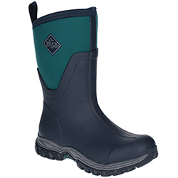 Small Image of Muck Boot Women's Arctic Sport II Mid Boots in Teal/Navy - UK 4 / EU 37