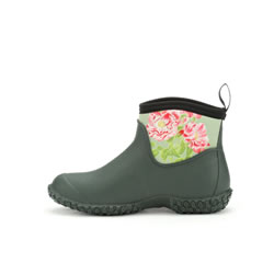 Extra image of Muck Boot Women's Muckster II RHS Ankle Boots - Green / Rosa Gallica - UK 7 / EU 40/41