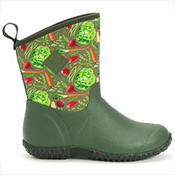 Small Image of Muck Boot Women's Muckster II Mid Boots in Green/Veg - UK 7