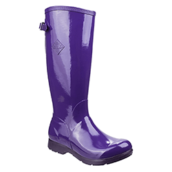 Small Image of Muck Boot Women's Tall Bergen Boots in Purple