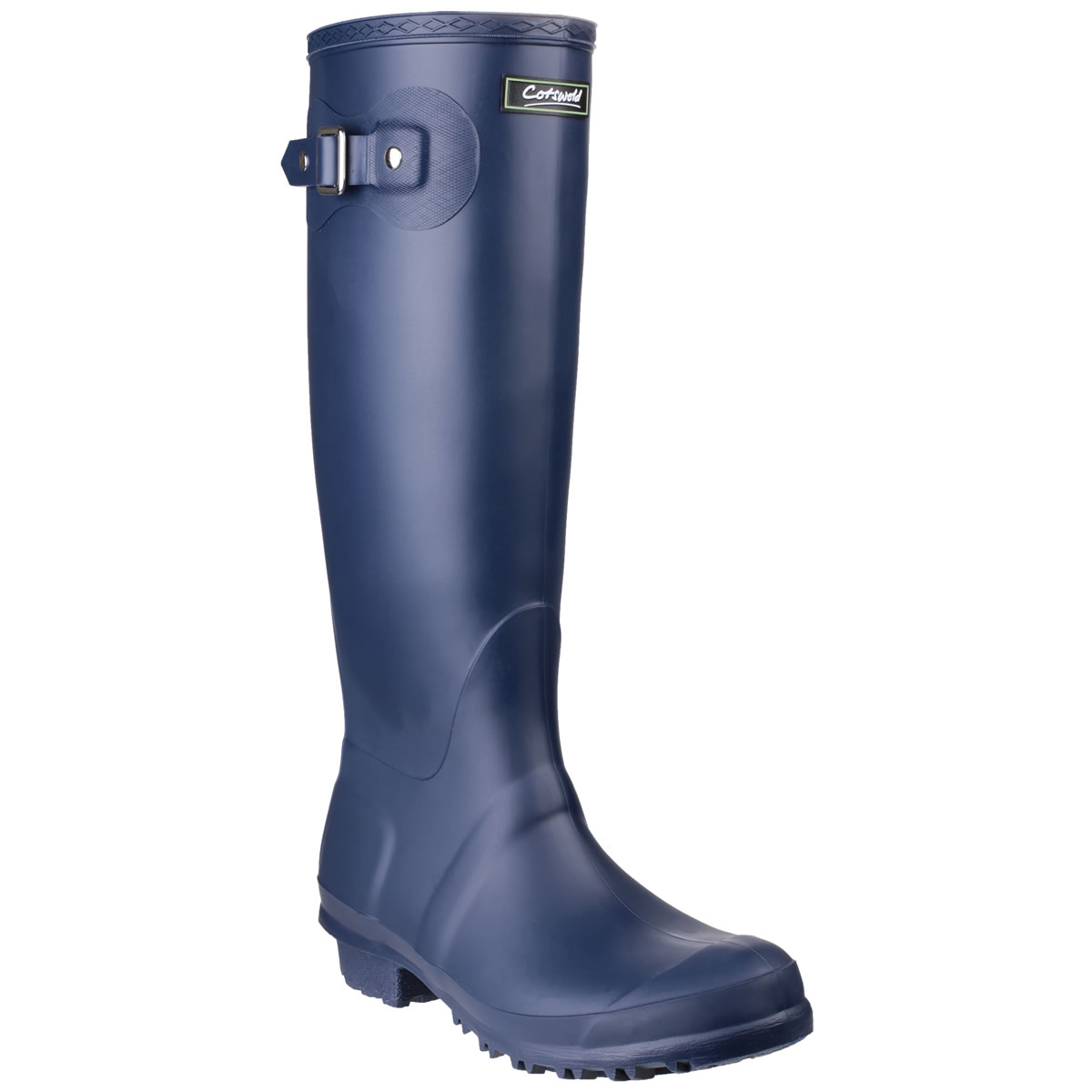Extra image of Womens Cotswold Sandringham Wellington Boots - Navy - UK Size 4