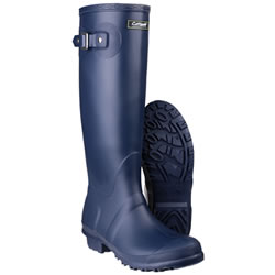 Small Image of Womens Cotswold Sandringham Wellington Boots - Navy - UK Size 6