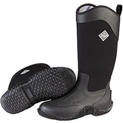 Small Image of Muck Boot - Tack II Tall Neoprene Boot - Black