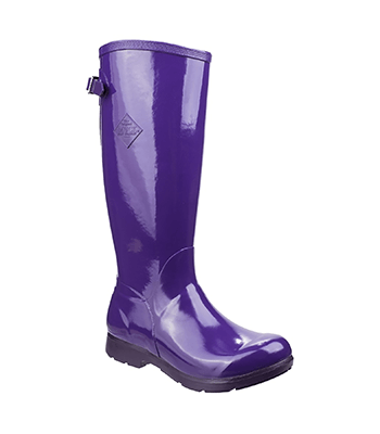 Image of Muck Boot Women's Tall Bergen Boots in Purple
