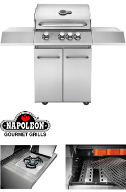 napoleon ultra chef 430 gas bbq 299 garden4less uk shop. Black Bedroom Furniture Sets. Home Design Ideas
