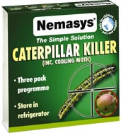 Nemasys Caterpillar & Codling Moth Killer