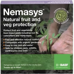 Image of Nemasys Fruit and Veg Protection - 120²m (2 Packs)