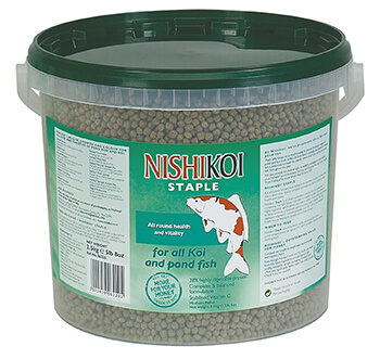 Image of Nishikoi Fish Food 2.5kg Staple (Large Pellet)