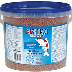 Small Image of Nishikoi Fish Food 2.5kg Growth (Large Pellet)