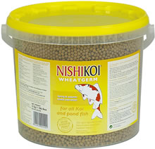 Image of Nishikoi Fish Food 2.5kg Wheatgerm (Medium Pellet)
