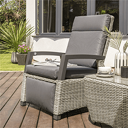 Extra image of Life Aloha Relaxer Chair Set in Yacht Grey / Carbon