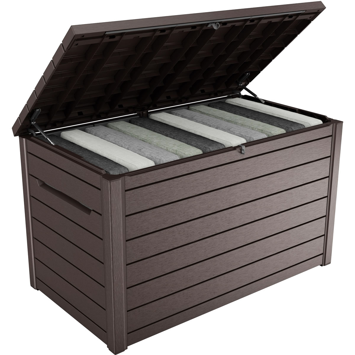 Extra image of Keter Ontario XXL Deck Storage Box - Brown