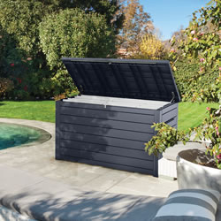 Small Image of Keter Ontario XXL Deck Storage Box - Anthracite