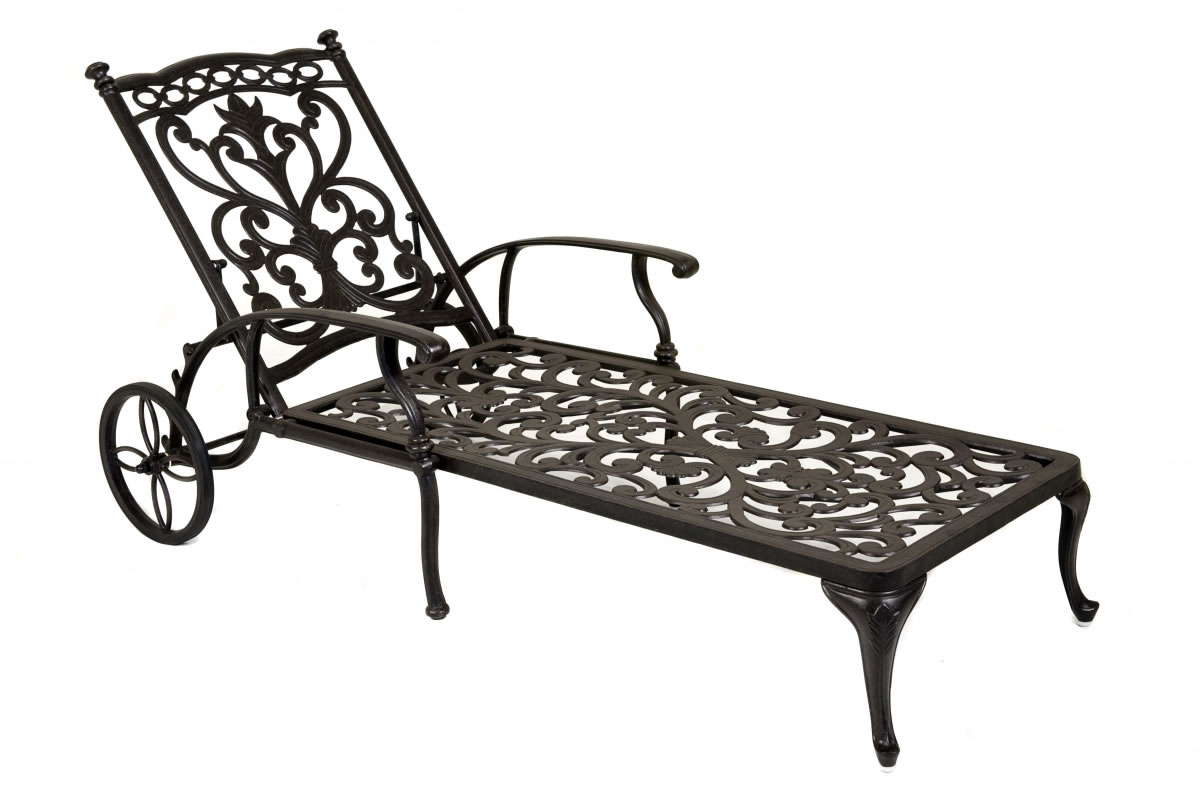ornamental chaise lounge coke taupe by idle rose 399. Black Bedroom Furniture Sets. Home Design Ideas