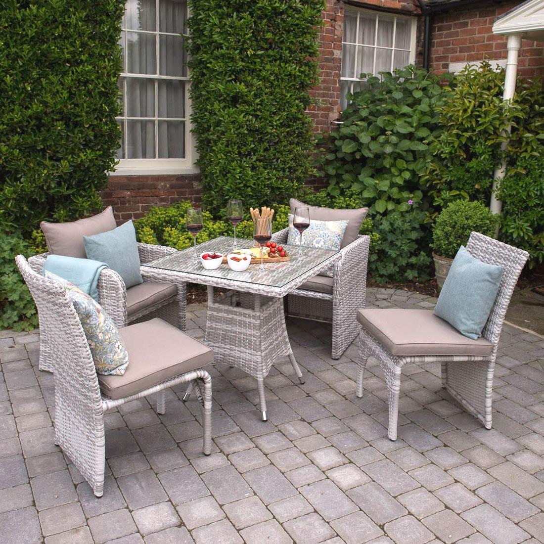 Morston Modular 2 To 4 Seater Garden Furniture Set 445