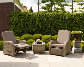 Image of Florenity Diva Weave Garden Furniture Set