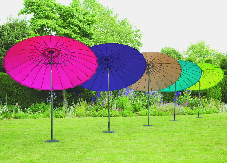 Norfolk Leisure 2 7m Round Geisha Garden Parasol 163 74 99