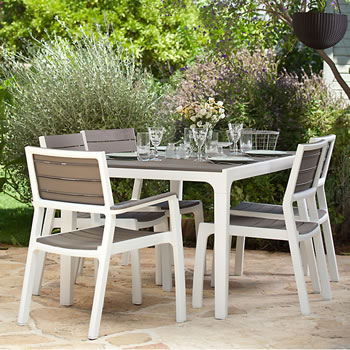 Image of Keter Harmony 6 Seater Dining Set