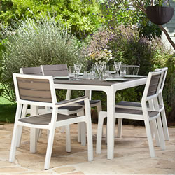Small Image of Keter Harmony 6 Seater Dining Set