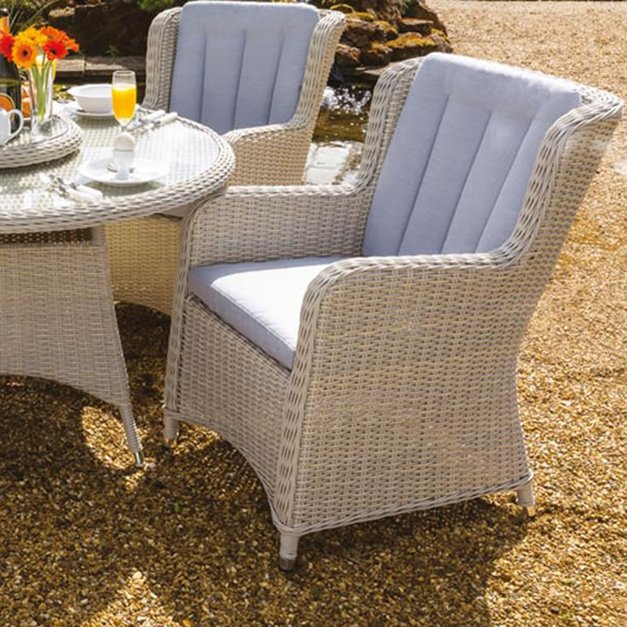 life king 8 seater weave dining set