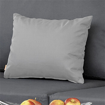 Image of Life Deco Cushion, 35 x 45cm, in Mouse Grey