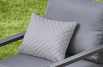 Image of Life Deco Cushion, 35 x 45cm, in Diamond Mouse Grey