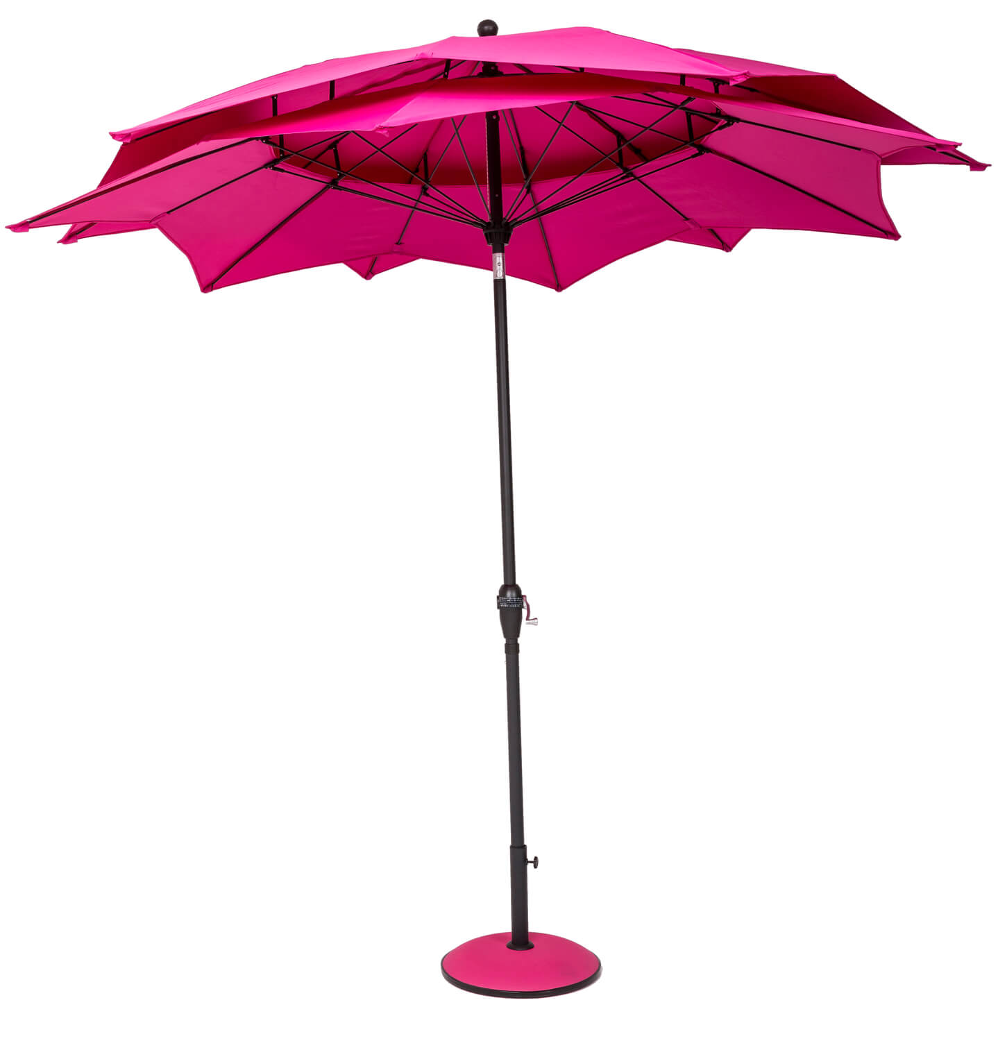 Norfolk Leisure 2.7m Round Lotus Garden Parasol - £74.99 ...