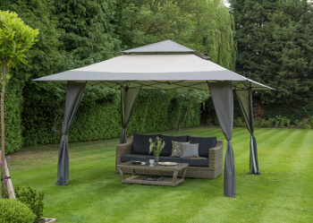 Image of Got it Covered Pop Up Gazebo - Grey