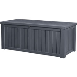 Small Image of Keter Rockwood Storage Box - Anthracite