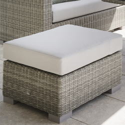 Small Image of LIFE Aya Square Ottoman Set - Yacht/Mouse Grey