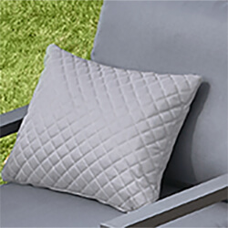 Small Image of Life Deco Cushion, 35 x 45cm, in Diamond Mouse Grey