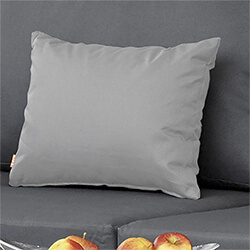 Small Image of Life Deco Cushion, 35 x 45cm, in Mouse Grey
