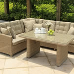 Serenity Lounge Corner Sofa Casual Dining Set