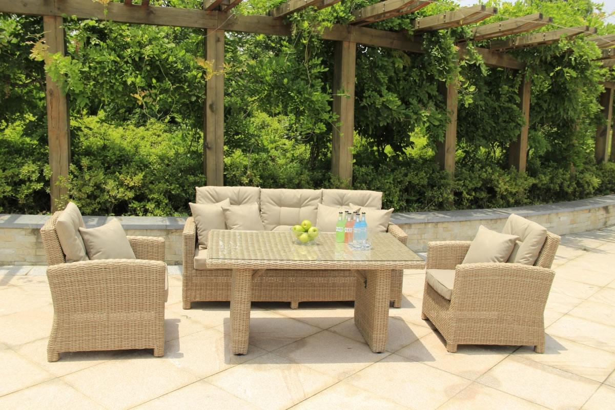 Serenity Lounge Sofa Casual Dining Set