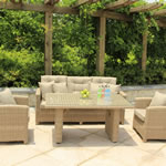 Serenity Lounge Sofa Casual Dining Set