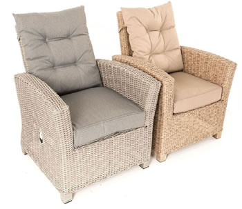 Extra image of Serenity 2 Seater Recliner Chair Furniture Set - Pepper/Grey