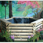 Small Image of Softwood 175 Gallon Pool