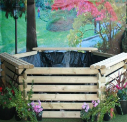 Image of Softwood 175 Gallon Pool