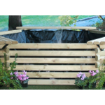 Small Image of Softwood 300 Gallon Pool