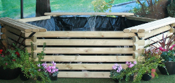 Image of Softwood 300 Gallon Pool