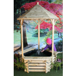 Small Image of Softwood Wishing Well with Fountain