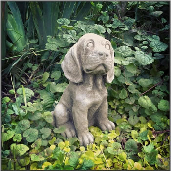 Image of Spaniel Puppy Stone Ornament