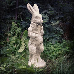 Small Image of Peter Rabbit Stone Ornament