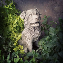 Small Image of Terrier Puppy Stone Ornament